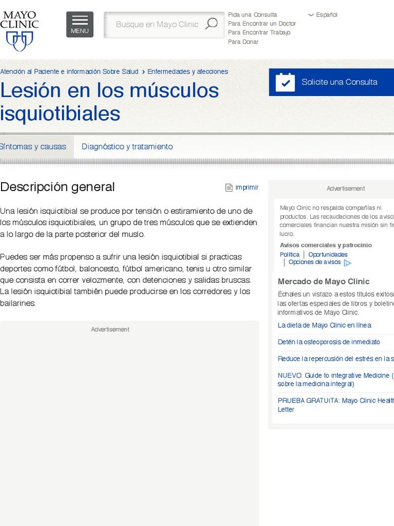 que es isquiotibiales en espanol
