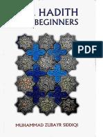 The Hadith for Beginners (Muhammad Zubayr Siddiqi) (1961)