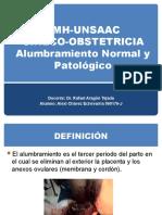 ALUMBRAMIENTO NORMAL Y PATLÓGICO