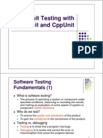 Unit Testing With CppUnit