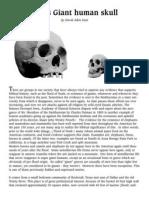 CORREX Giant Texas Skull