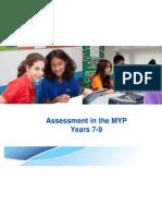 Assessment MYP 7-9 2010
