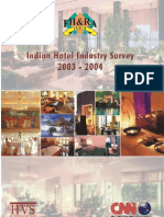 Indian Hotel Industry Survey 2003-2004