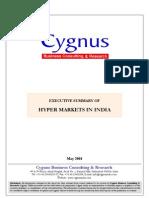 Industry Insight-Hypermarkets-Executive Summary & TOC-May 2004