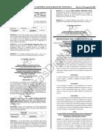 Gaceta Oficial 41469 Ministerio del Poder Popular para el Transporte