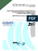 GSM Cap2 Etsi
