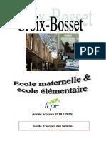 2018-2019 Ecole Croix Bosset Guide Long