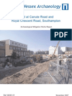 Land at Canute Road and Royal Crescent Road, Southampton - mitigation
