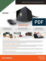 Boxee Box by D-Link - DSM-380 Datasheet
