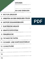 Werkstatthandbuch KTM Motor 400 Lc4 - 640 Lc4 (German)