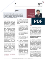 Leadership – leading towards personal responsibility (module 3)