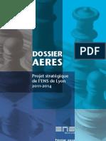 projet stratégique 2011-2014 AERES