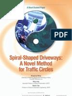 Spiral Shaped Driveway