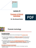 10- Forensic & Clinical Toxicology