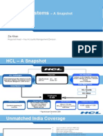 HCL Info Systems - Snapshot