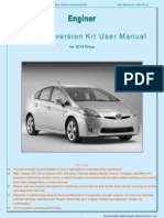 Enginer PHEV User Manual Generation 3 Prius