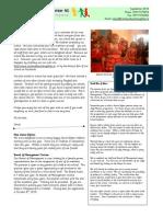 September Newsletter 2010