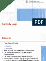Oslo - Porosity Logs