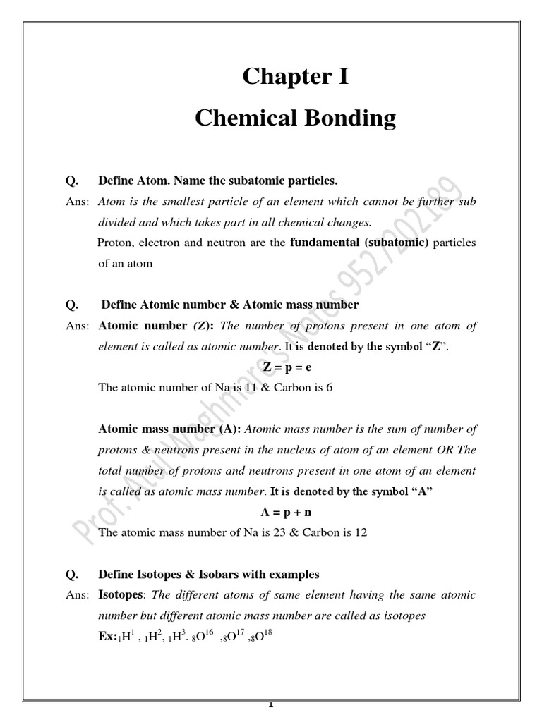 Atomic number definition electrons