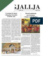 """Gazeta """"Ngjallja"""" Gusht 2018"""