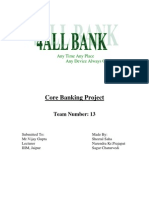 Core Banking Project
