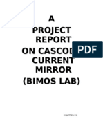 Cascode Current Mirror