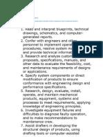 2 Mechanical Engineers Tasks and Duties