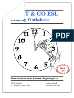 Esl eBook Worksheets