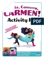 Lights Camera Carmen Activity Kit