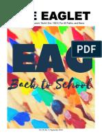 The Eaglet | Vol. 30, No. 3 | Sept. 2018