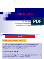 Iugr and Iufd