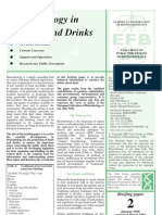 Biotechnology in Foods and Drinks