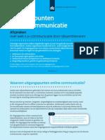 Afspraken over web 2.0-communicatie door rijksambtenaren