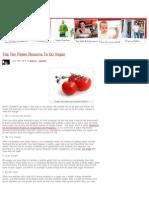 Top Ten Power Reasons to Go Vegan