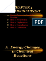 A Energy Changes in Chemical Reactions