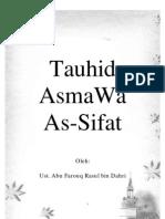 Tauhid Asma Wa AsSifat