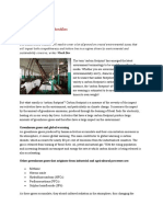 Carbon Footprint of Textiles