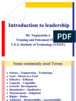 Introduction to Leadership (1)