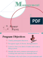 Time Management Power Point 1435