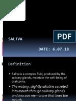 saliva.pptx