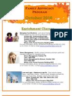 Family Advocacy Program October 2010