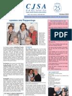October Newsletter - CJSA