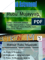Rubu' Mujayyab