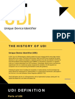 Know about Unique Device Identifier (UDI) | DDi