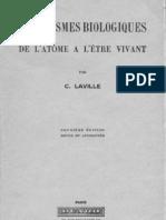Mécanismes biologiques - Charles Laville