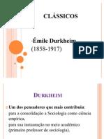 Aula I - Émile Durkheim 21.05