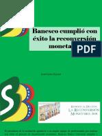 Juan Carlos Escotet - Banesco cumplió con éxito la reconversión monetaria