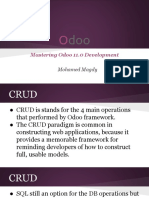 odoo                                                                                 11.0                                                                                 crud                                                                                 development