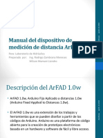 manual                                                                                 del                                                                                 dispositivo                                                                                 de                                                                                 medici                                        ó                                        n                                                                                 de                                                                                 distancia                                                                                 arfad