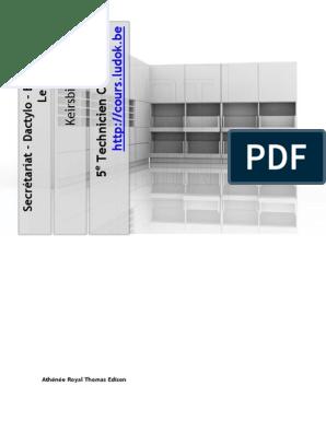 Buro1 Classement Eleves Pdf Microsoft Word Fichier Informatique